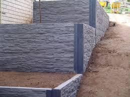 retaining walls central coast